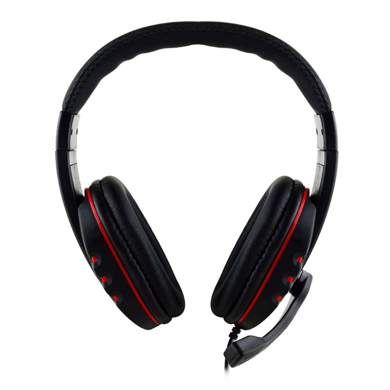 3.5mm Gaming Headset Headphone w/ Microphone Volume Control for Sony PS4 PlayStation 4 for PC|Headphone/Headset| |  - title=