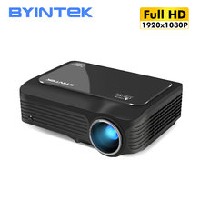 BYINTEK K18 Portable 1920x1080 Full HD 1080P Mini LCD LED Home cinéma 3D projecteur (en option Android 10 TV BOX pour Smartphone)