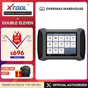 Image 1 - XTOOL herramienta de diagnóstico de coche OBD2 con Bluetooth/WiFi, herramienta de reparación de automóviles, lector de código, escáner de por vida, actualización gratuita