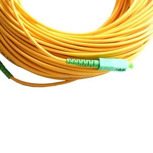 Image 3 - 무료 배송 sm sx pvc 3mm 50 meters sc/apc 광섬유 점퍼 케이블 sc/APC SC/apc 광섬유 패치 코드