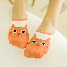Cotton Foat Socks Cute Animal Non-slip Soft Maternity Girl Hosiery Funny Socks Cartoon Low Cut Pregnant Woman Socks For Summer(China)