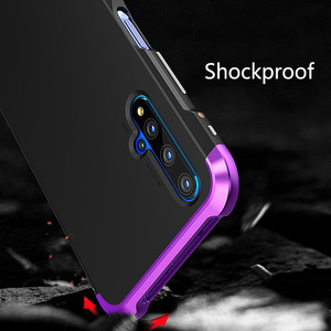 Image 4 - For Huawei P30 Pro P30 Case Hybrid Aluminum Metal Bumper Hard PC Shockproof Case for Huawei P40 P40 Pro P20 P30 Pro Cover
