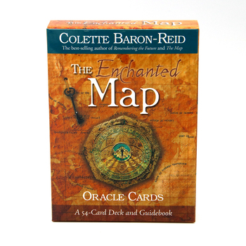 The Enchanted Map Oracle Cards by Colette Baron-Reid chart a course to live life of deep purpose, true prosperity vibrant love
