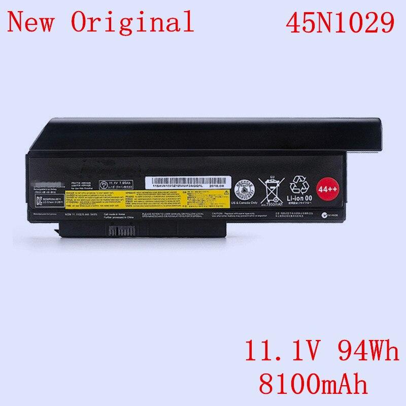 New Original Laptop Li-ion Battery 45N1028 45N1029 For LENOVO Thinkpad X220 X220i X220S X230 X230I 11.1V 94Wh 8100mAh