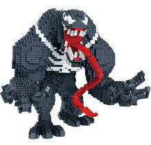 3910pcs Diamond Thonas Gloves with Energy Stone and Long Tongue Marvel Venom 3d Model Building Kits Mirco Bricks Blocks Kids Toy