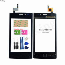 Phone Touch Screen For MTN S730 Touch Screen Front Glass Digitizer Panel Lens Sensor TouchScreen 3M Glue