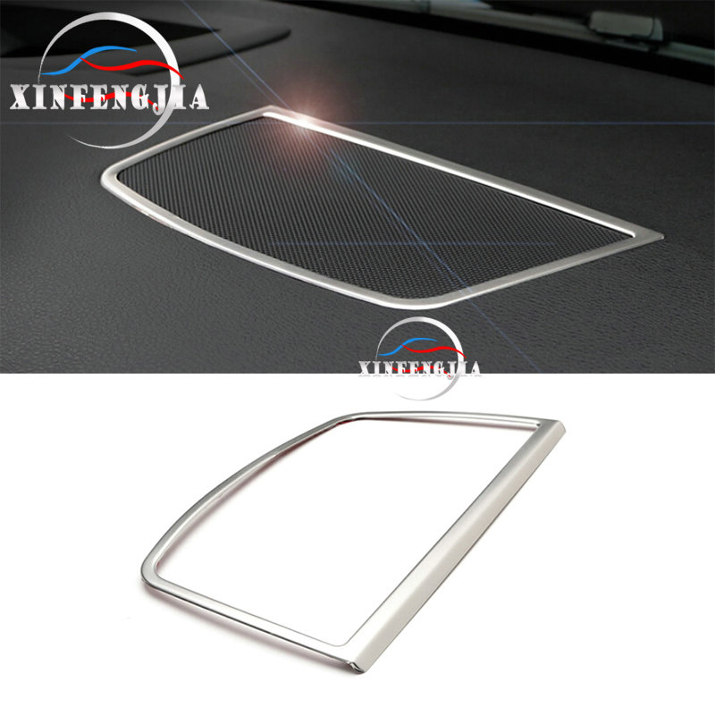 For <font><b>BMW</b></font> X6 E71 08-14 X5 <font><b>E70</b></font> 07-13 Steel Dashboard Middle Console Speaker Frame <font><b>Trim</b></font> image