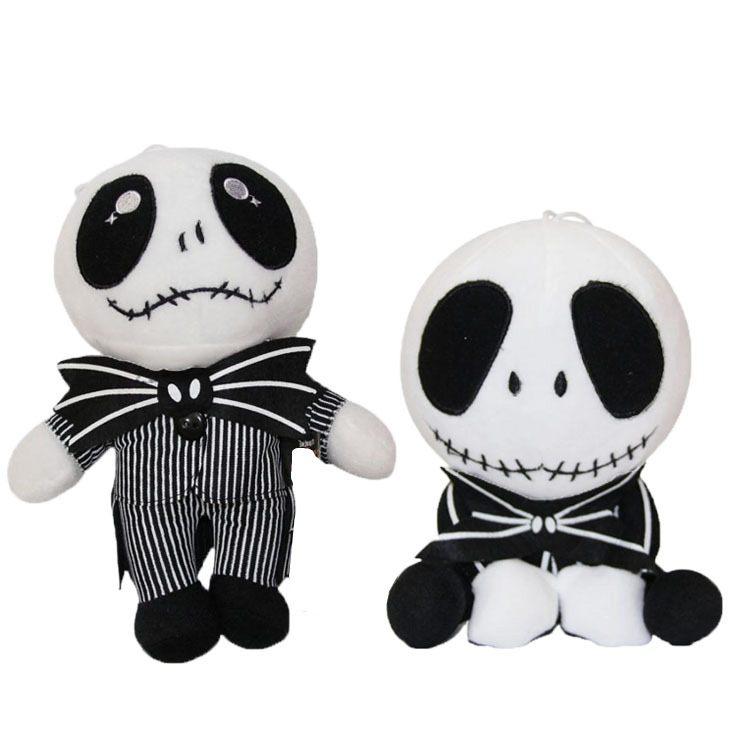 The Nightmare Before Christmas Jack Skellington Plush Dolls Toys Soft Stuffed Doll Gift For Kids image