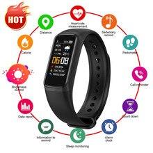 2021 relógio inteligente homens mulheres esporte banda inteligente sono pressão arterial monitor de freqüência cardíaca pulseira de fitness ip67 pulseiras à prova d água