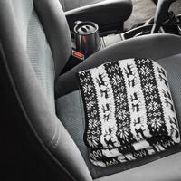 145x100cm 자동차 난방 담요 눈송이 엘크 패턴 12 v 자동차 전기 담요 에너지 절약 온수 여행 담요|자동차 여행 침대|   -