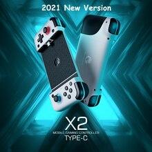 GameSir X2 סוג C נייד Gamepad בקר משחק עבור Xbox משחק לעבור, פלייסטיישן עכשיו, אצטדיונים, geForce עכשיו 【 2021 חדש Version】