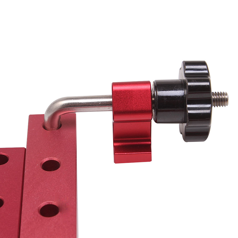 Woodworking 90 Degrees L-Shaped Auxiliary Fixture Right Angle Positioning Clamps Splicing Board Positioning Corner Ruler