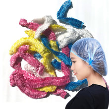 Одноразовая шапочка для душа пластиковая Водонепроницаемая прозрачная