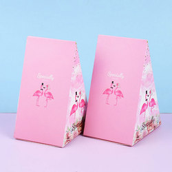 Triangular Pyramid Candy Box Best Wishes Save the Date Wedding Favors Gift Box Chocolate Bags for Guests Birthday Party Supplies
