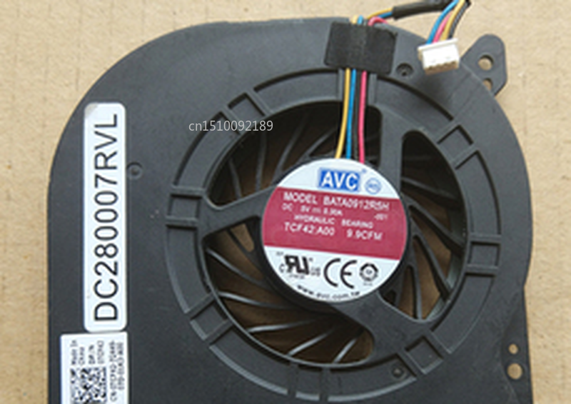 Free Shipping FOR Dell E6410 E6510 Laptop CPU Fan 0TCF42 DC280007RVL