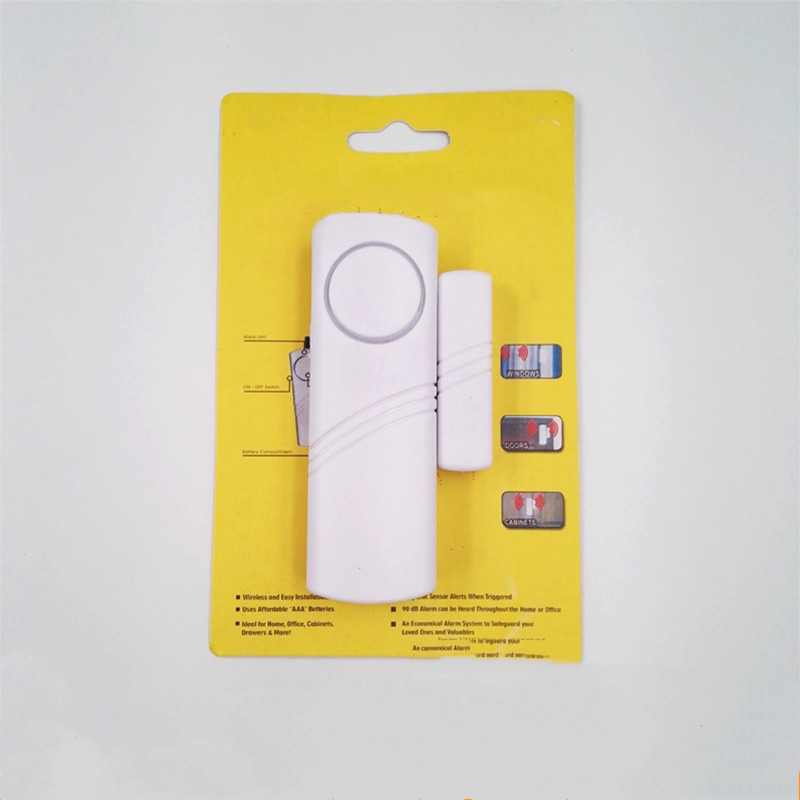 Battery-Device Burglar-Alarm Window-Sensor Door Magnetic Wireless Entry Longer-System title=