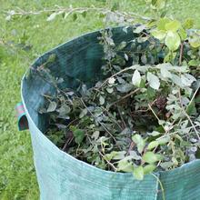Классический 3 шт Большой садовый мусорный мешок листья травы корзина многоразовое хранилище контейнер