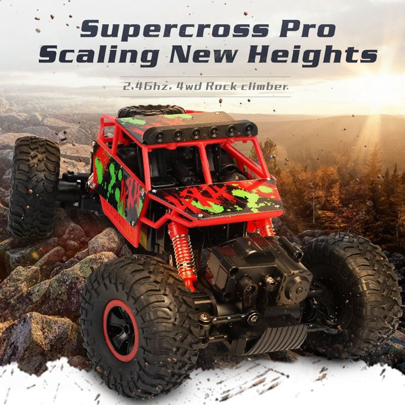 1:18 4WD Steering drive Big RC Cars 2.4G High Speed Off-Road Trucks Climbing car
