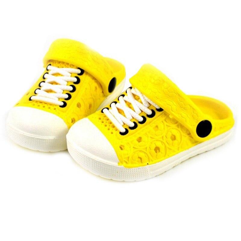 1 Pair Children Kids Slippers Sandals Anti-slip Breathable For Summer Beach BM88