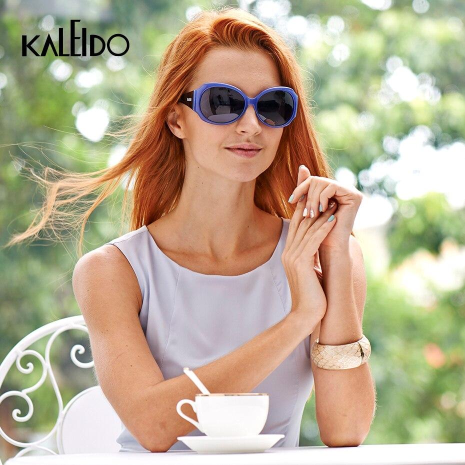 KALEIDO UV400 Polarized Sunglasses High Quality CP Frame Luxury Women Sun Glasses Brand Design TAC Lenses Eyewear For Female