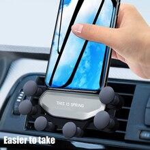 2020 Gravity Car phone Holder Car Air Ve