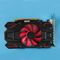 Computer Graphic Card for amd HD7670 4GB DDR5 128 Bit PCIE 2.0 HDMI-Compatible + VGA + DVI Interface with Cooling Fan 2
