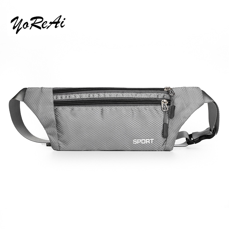 YoReAi Waterproof Bum Bag Waist Pack Men Chest Belt Waist Bags Shoulder Pack Multiple Usage Fashion Hip Pack Travel Bag Belt