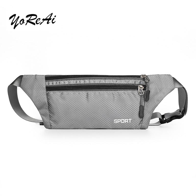 YoReAi Waterproof Bum Bag Waist Pack Men Chest Belt Waist Bags Shoulder Pack Multiple Usage Fashion Hip Pack Travel Bag Belt