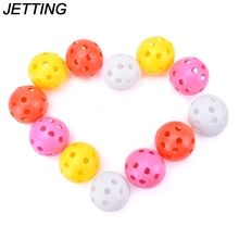 Training-Aids Golf-Balls Sports-Accessories Elastic Airflow Whiffle Wholesale Hollow