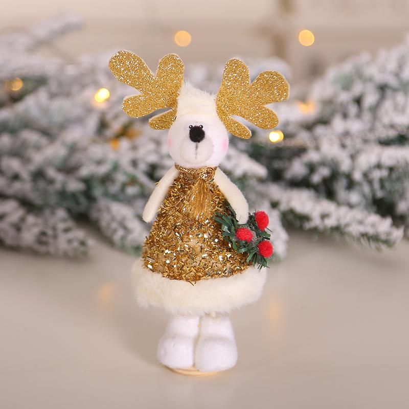 2020 New Year Gift Cute Christmas Angel Doll Xmas Tree Ornament Noel Deco Christmas Decoration for Home Natal Navidad 2019 Decor 43