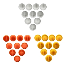 10Pcs/set High Quality Practice Golf Ball, Sports Outdoor Indoor Golf Practice Training Balls for Children Adult Office Travel