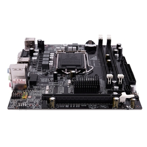 Image 1 - PPYY NEW  H55 LGA 1156 Motherboard Socket LGA 1156 Mini ATX Desktop image USB2.0 SATA2.0 Dual Channel 16G DDR3 1600 for Intel