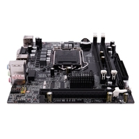 PPYY NEW H55 LGA 1156 Motherboard Socket LGA 1156 Mini ATX Desktop image USB2.0 SATA2.0 Dual Channel 16G DDR3 1600 for Intel