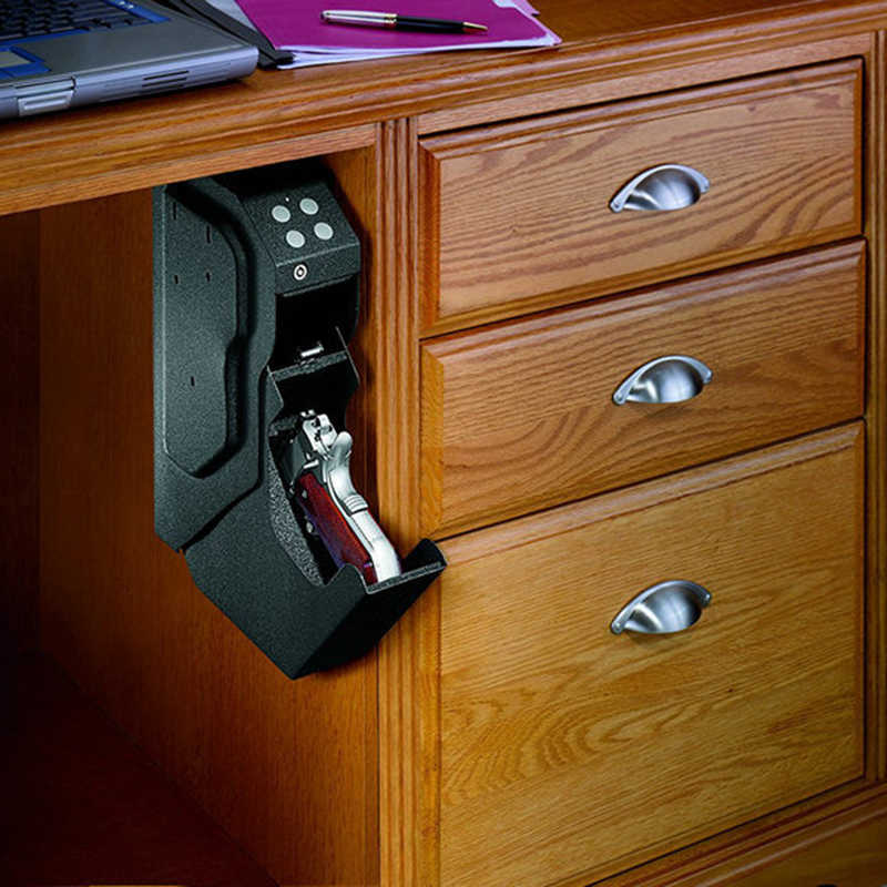 ปืนปลอดภัยกล่องปืนรหัสผ่านปลอดภัยกล่องรหัสตู้นิรภัยกับความปลอดภัยเหล็กคุณภาพสูง Strongbox