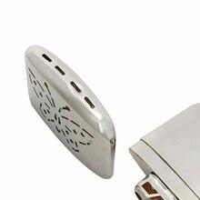 Портативный карманный Платиновый Стандартный топливный обогреватель для рук для помещений и улицы удобный обогреватель