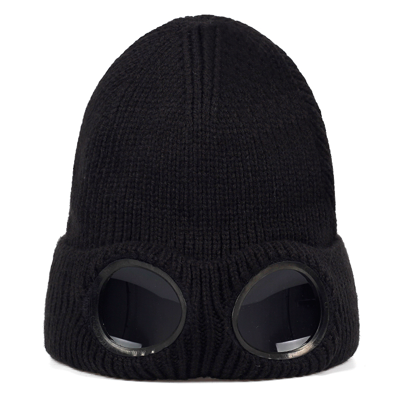Wool Hat Masked Glasses Headgear Riding-Hats Autumn Outdoor Winter Universal-Caps Fashion title=