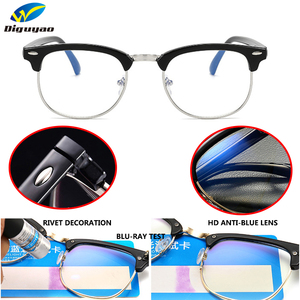 Image 5 - DIGUYAO Brand Male blocking glasses optical Eye filter Women anti blue computer glasses TV gaming Eyewear Men anti blue glasses