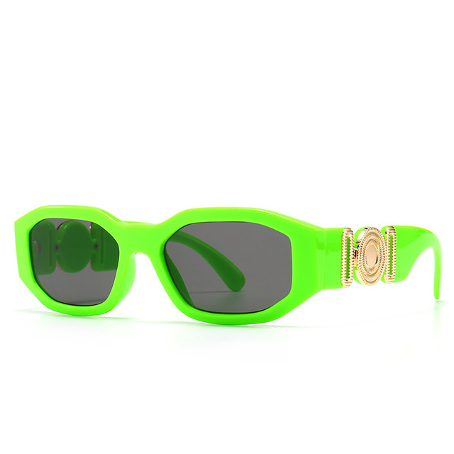 Vintage Steampunk Brand Design Luxury Small Frame Sunglasses Men Women Fashion Square Sun Glasses Shades UV400 Vintage Glasses 5