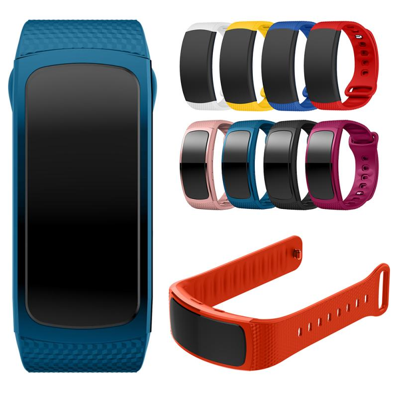 Silicone Watch Band For Samsung Gear Fit 2 SM-R360 Women Fitness Watch Bands Wrist Strap For Samsung Gear Fit2 Bracelet Strap