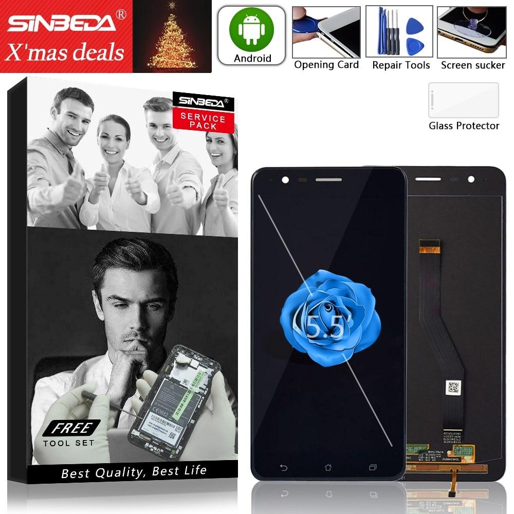 Sinbeda Original LCD For Asus Zenfone 3 Zoom ZE553KL LCD Display Touch Screen Digitizer Assembly For Zenfone 3 ZE553KL Screen