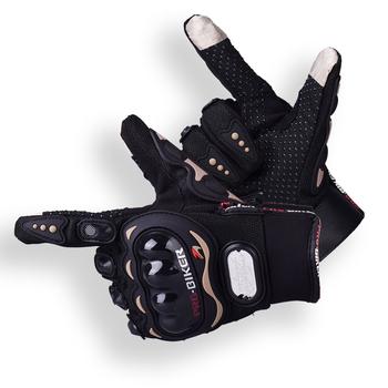 PRObiker motorcross guantes luvas rękawice motocyklowe full finger man women rękawice motocyklowe rowerowe rękawiczki rowerowe tanie i dobre opinie Pro-biker Elastan i nylonu Unisex Z pełnym palcem