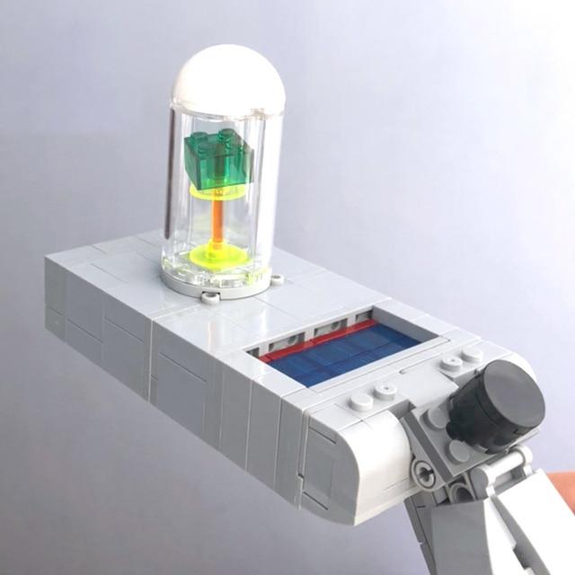 NEW RM Portal Gun MOC Building Blocks