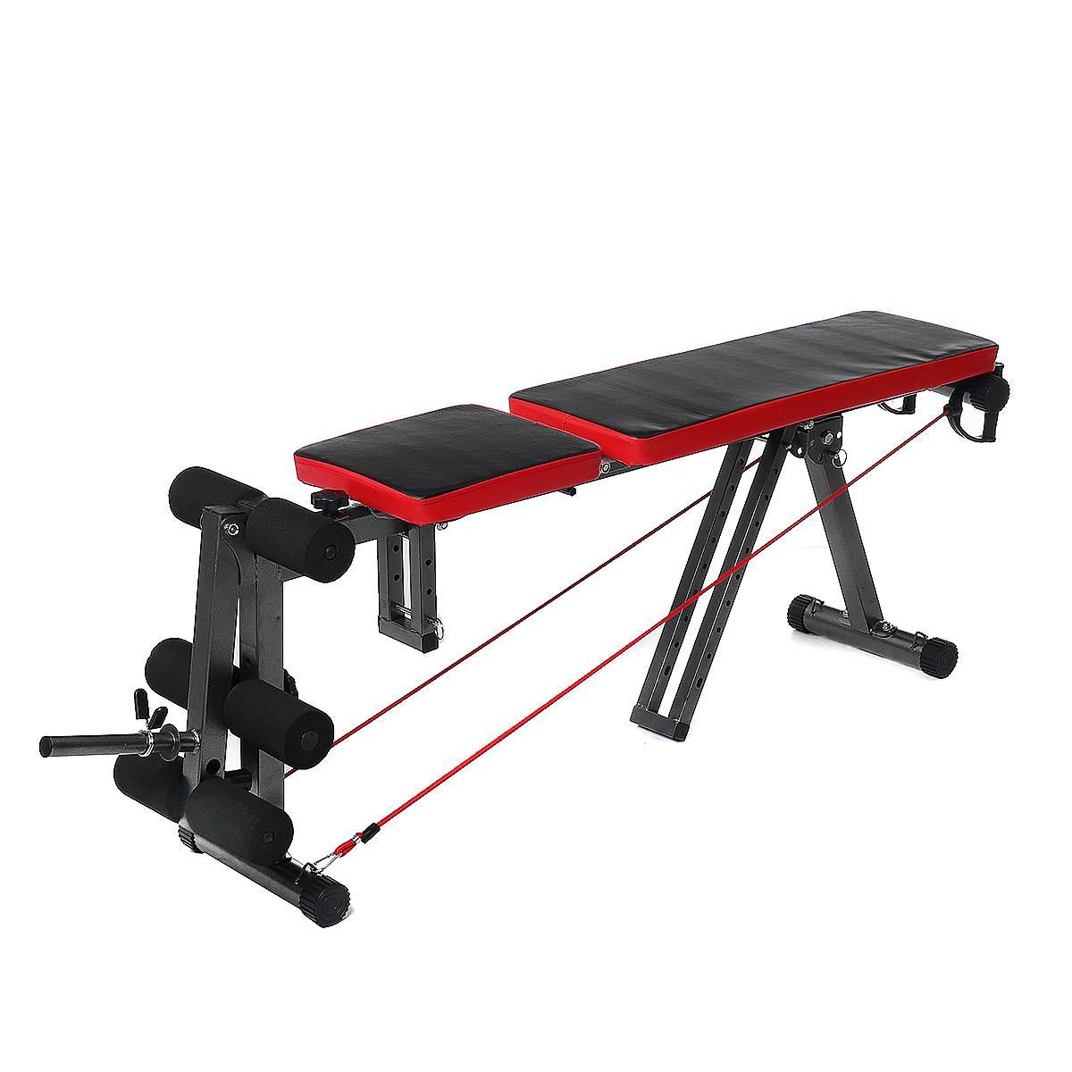 Banc d'entraînement de remise en forme en acier multifonctionnel Durable Stable et confortable - 4