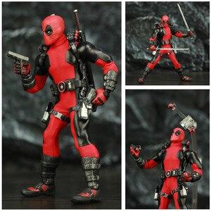 """Image 5 - One:12 Deadpool 6 """"Action Figure vestiti abito di stoffa Dead Pool Legends Dog 1/12 1:12 Comic Movie Toys modello di bambola"""