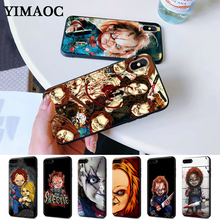 Charles Lee Ray Chucky Doll Silicone Case for iPhone 5 5S 6 6S Plus 7 8 11 Pro X XS Max XR