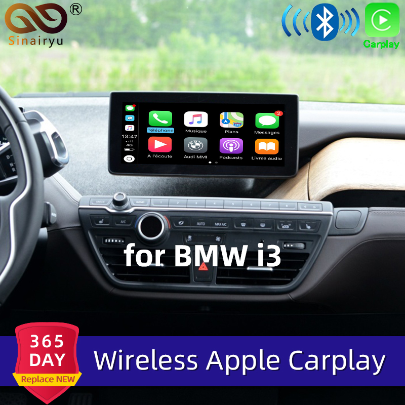 Sinairyu WIFI Wireless Apple Carplay Car Play Android Auto Mirroring Retrofit NBT i3 2013 2017 for BMW support Reverse Camera|Car PC| |  - title=