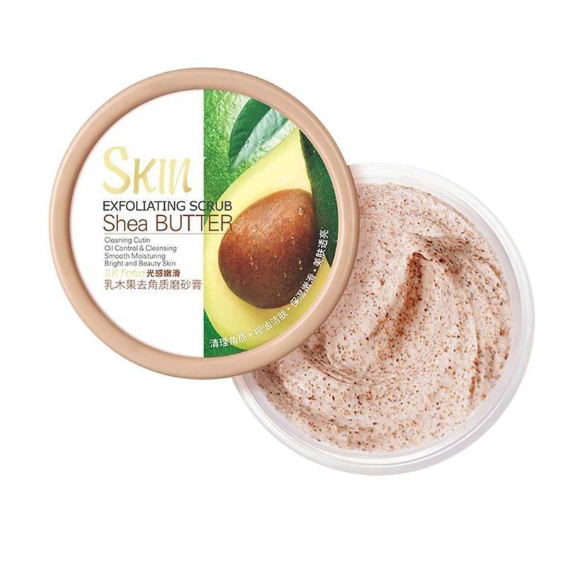 100g Face Body Skin Facial Scrub Deep Cleansing Face Scrub Cream Hydrating Body Scrub Exfoliating Lotion Mud Exfoliating Gel