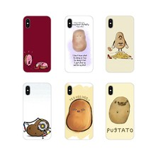 For Oneplus 3T 5T 6T Nokia 2 3 5 6 8 9 230 3310 2.1 3.1 5.1 7 Plus 2017 2018 Cartoon Food Potato Accessories Phone Cases Covers(China)