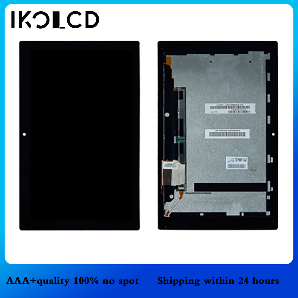 For <font><b>Sony</b></font> Xperia Tablet Z 10.1 <font><b>SGP311</b></font> SGP312 SGP321 LCD Display Matrix Screen Touch Panel Tablet PC Assembly with Frame image