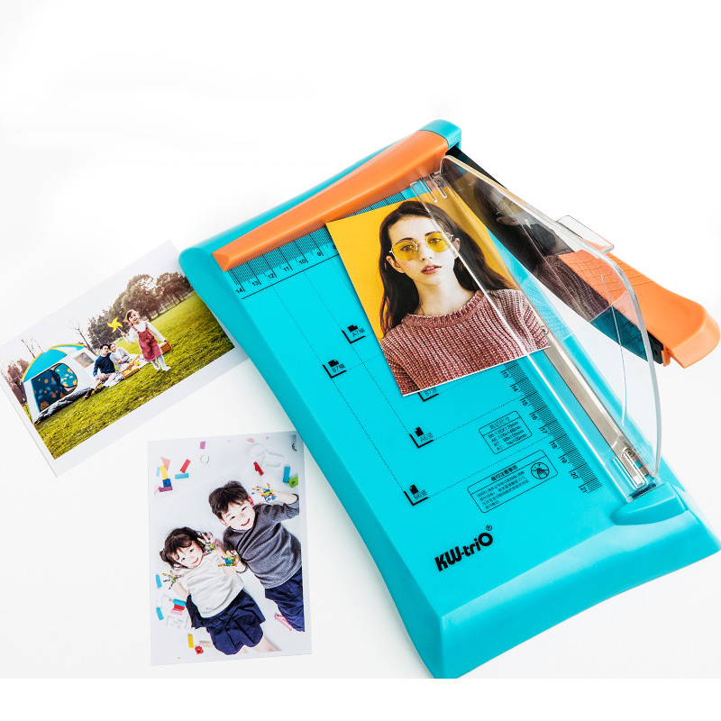 Paper Cutter Cutting Photo Safety Baffle Cutter Small Paper Cutter Portable Portable Manual Cutting Light And Easy To Carry